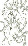 背景五颜六色花卉时髦 免版税图库摄影