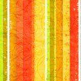 背景五颜六色被弄皱的纸镶边 免版税库存照片