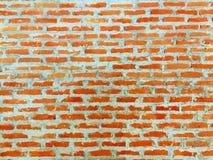背景从红砖块被仿造 免版税图库摄影