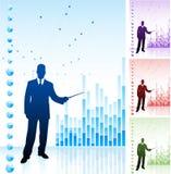 背景企业图表财务人 库存照片