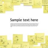 背景企业无缝的墙纸 免版税库存图片
