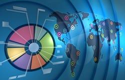 背景企业资源世界 图库摄影