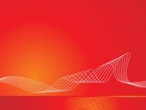 背景例证红色向量 图库摄影