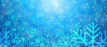 背景例证雪花向量冬天 库存例证