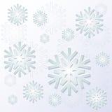 背景例证雪花向量冬天 免版税库存图片