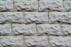 背景做石石头纹理墙壁白色 图库摄影