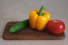 背景健康生活方式混合蔬菜 免版税库存照片