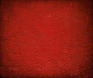 背景光泽脏的被绘的红色墙壁 免版税库存图片