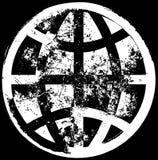 背景全球grunge 库存图片