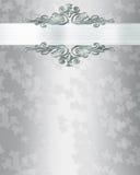 背景典雅的邀请婚礼 免版税库存照片