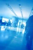 背景内部银行营业厅 免版税库存图片