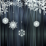 背景冬天 向量例证