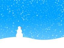 背景冬天 图库摄影