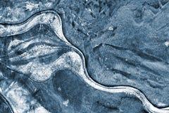 背景冰排行模式 图库摄影