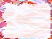 背景减速火箭的幻灯片透明波浪 免版税库存照片