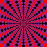 背景几何幻觉 库存图片