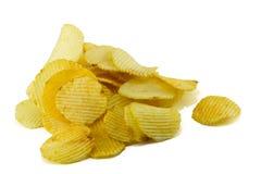 背景切削食物图象旧货土豆系列白色 免版税库存照片
