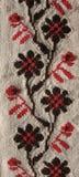 背景刺绣模式 免版税库存照片