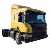 背景包括的查出的路径卡车空白工作 免版税库存图片