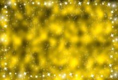 背景发光的星形 库存照片