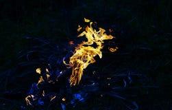 背景发火焰美妙的墙壁 免版税库存照片