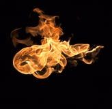 背景发火焰美妙的墙壁 图库摄影