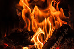 背景发火焰美妙的墙壁 库存图片