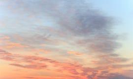 背景可能生动描述使用的天空纹理 免版税库存照片