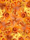 背景向日葵漩涡 免版税库存照片