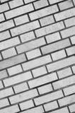 背景和纹理的灰色砖墙 免版税库存照片
