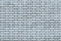 背景和纹理的灰色砖墙 免版税图库摄影