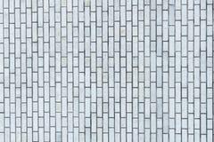 背景和纹理的灰色砖墙 免版税库存图片