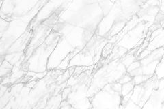 背景和设计的白色大理石纹理 免版税库存图片