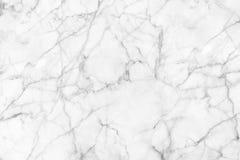 背景和设计的白色大理石纹理 库存照片