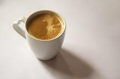 背景咖啡杯例证滤网向量白色 免版税库存照片