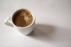 背景咖啡杯例证滤网向量白色 库存图片