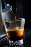 背景咖啡杯浓咖啡查出的路径白色 免版税库存图片