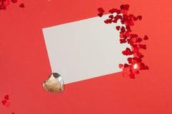 背景咖啡杯红色 免版税库存图片