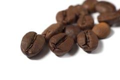 背景咖啡粒 图库摄影
