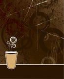 背景咖啡 免版税图库摄影