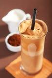 背景咖啡frappe查出的白色 库存照片