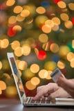 背景响铃拟订圣诞节赊帐节假日查出的红色购物闪耀的白色 免版税库存照片