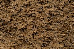 背景图象的湿沙子纹理 免版税库存照片