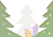 背景圣诞前夕 免版税库存照片