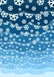 背景圣诞节云彩 向量例证