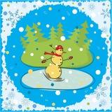 背景圣诞节例证向量 图库摄影