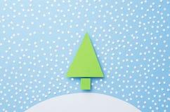 背景圣诞节例证纸张红色结构树 免版税库存图片