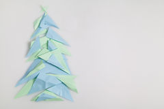 背景圣诞节例证纸张红色结构树 免版税库存照片