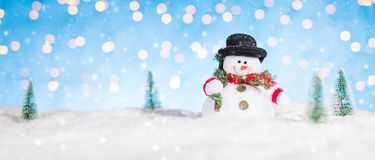 背景圣诞节例证雪人向量 免版税库存图片