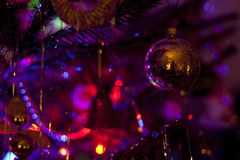 背景圣诞节关闭红色时间 免版税库存照片